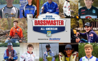 2020 Bassmaster High School All-American Team Welcomes 12 New Members
